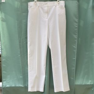 Jones New York White Slacks